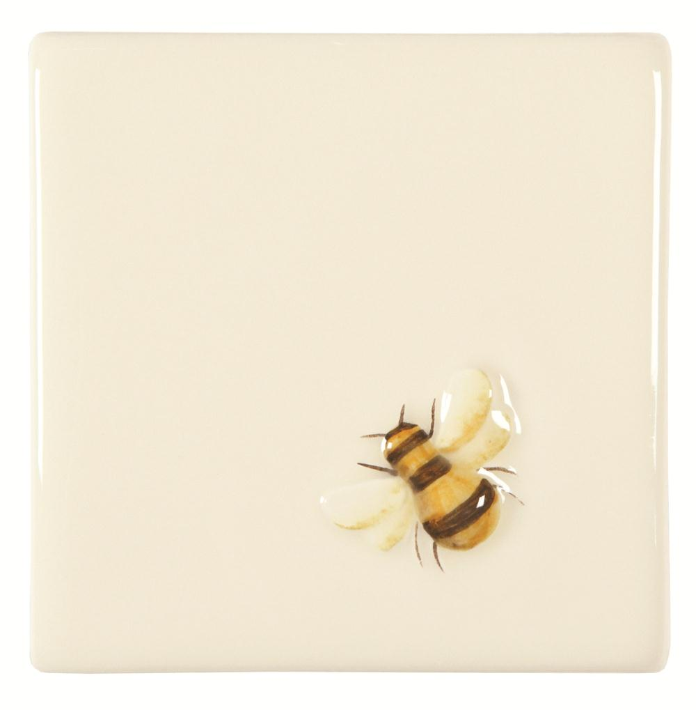 Napoleon Bee On Off White The Winchester Tile Company
