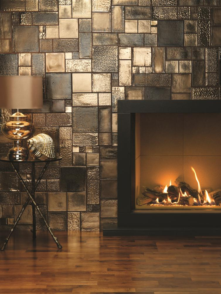 Roman Gold Foundry Metallic Tile The Winchester Tile Company